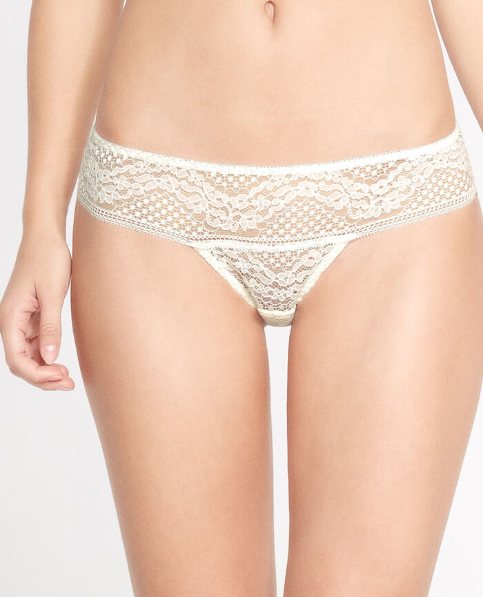VERTIGE Cream white Hipster briefs