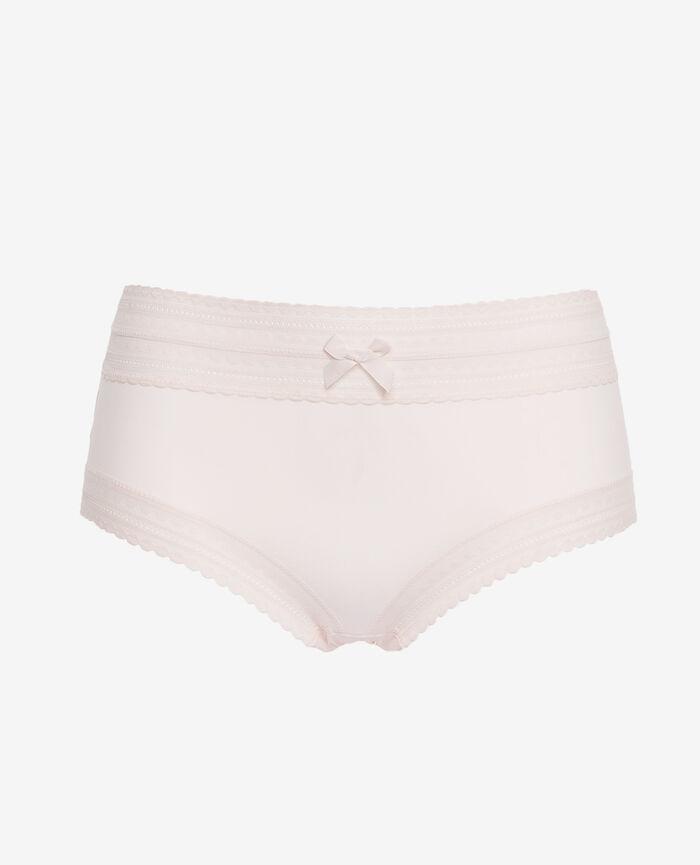 BEAUTE Blanc rosé Culotte taille haute