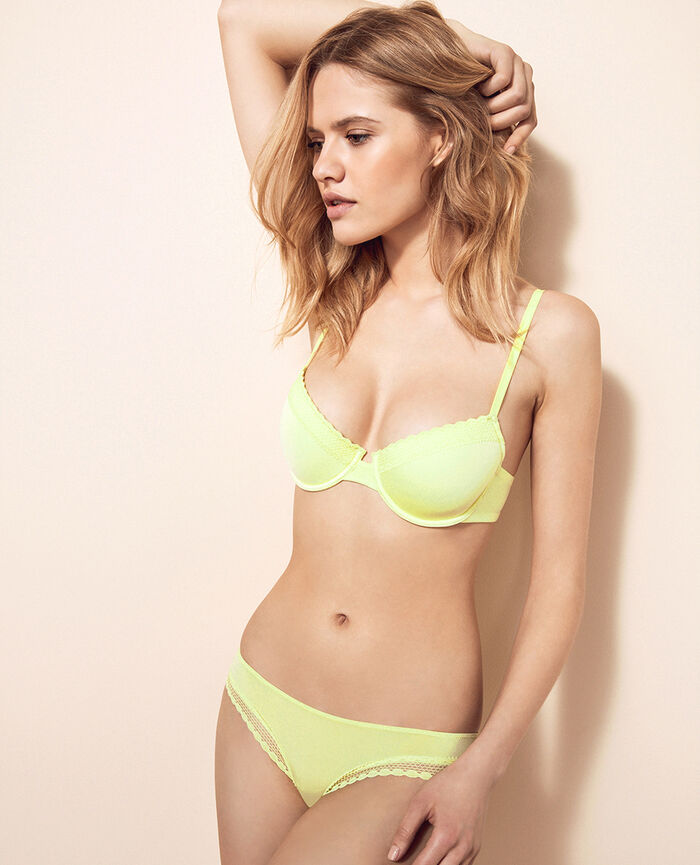 Hipster briefs Techno yellow Air lingerie