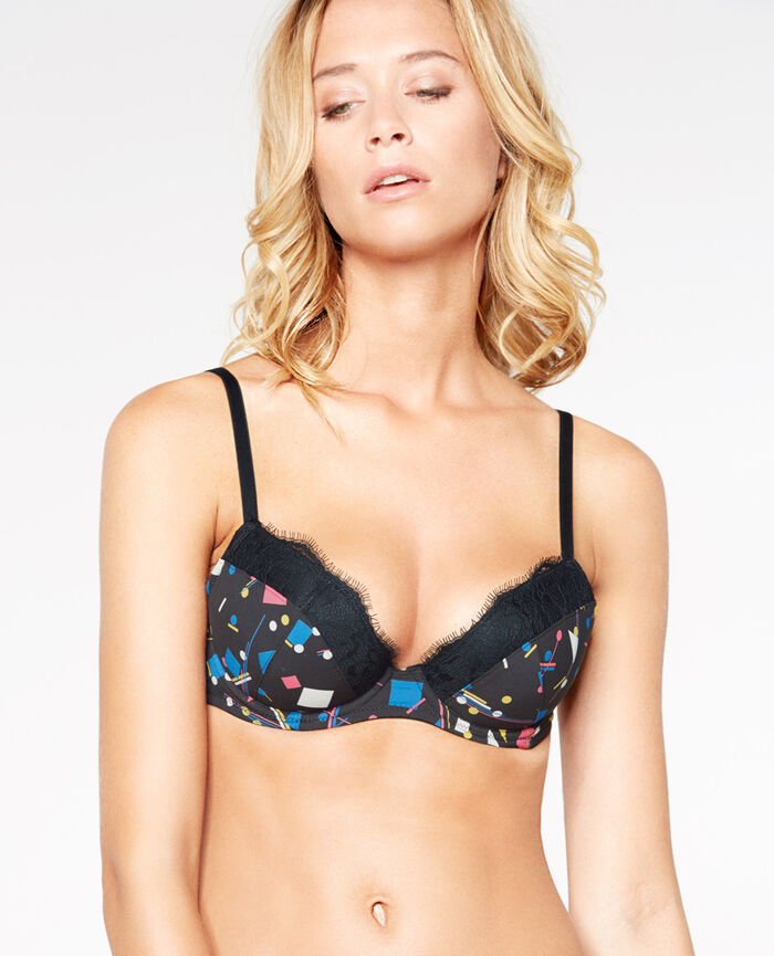 JACKPOT Geo Soutien-gorge push-up mousses