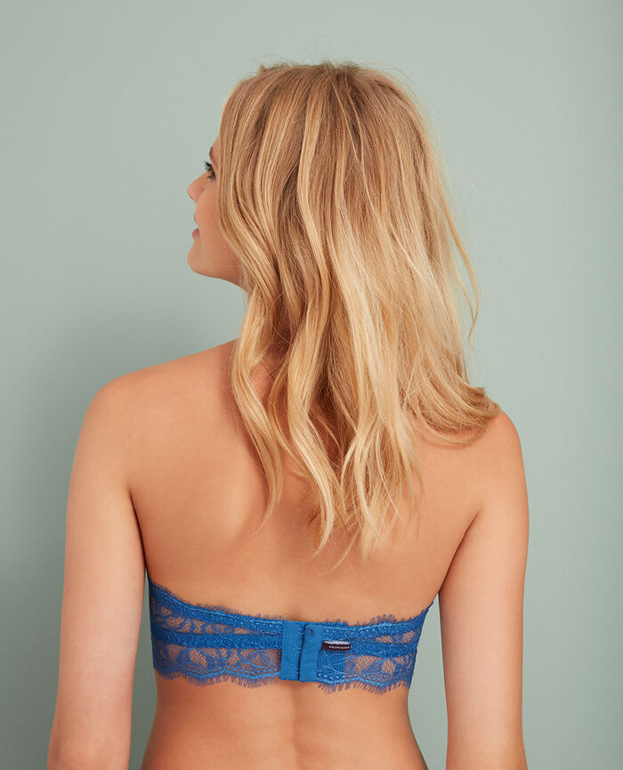 Strapless bra River blue Taylor
