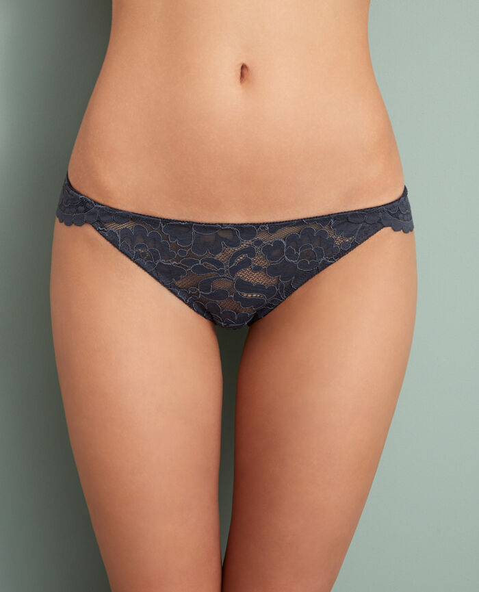 Culotte taille basse Gris subway Angelina
