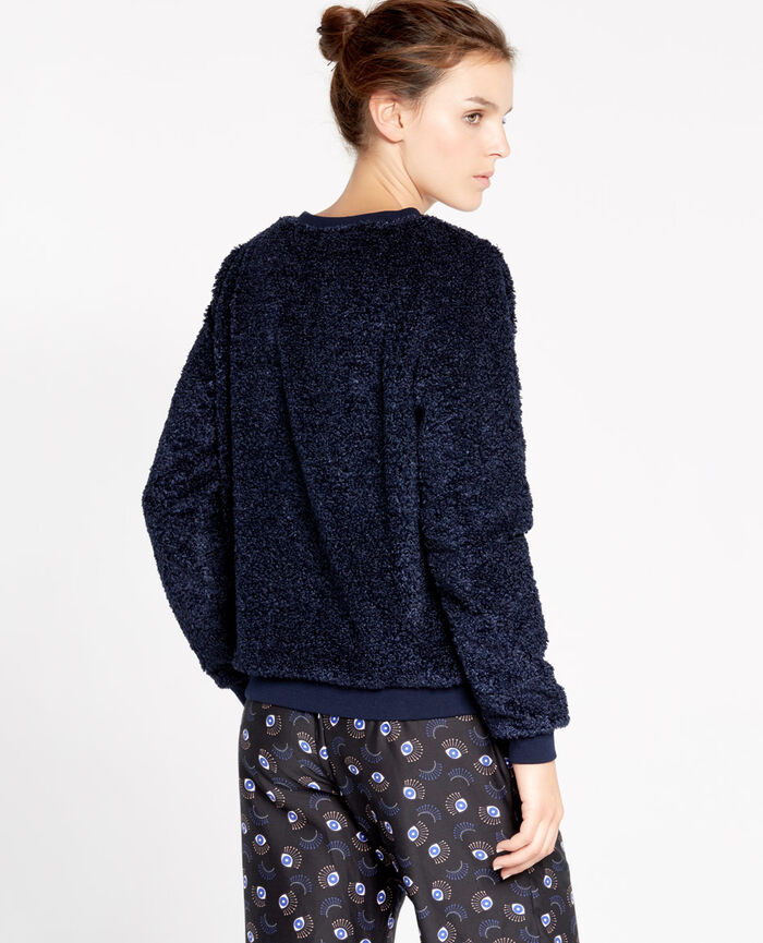 FLUFFY Abyss blue Sweater