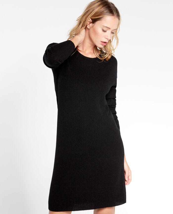 COZY Schwarz Kleid