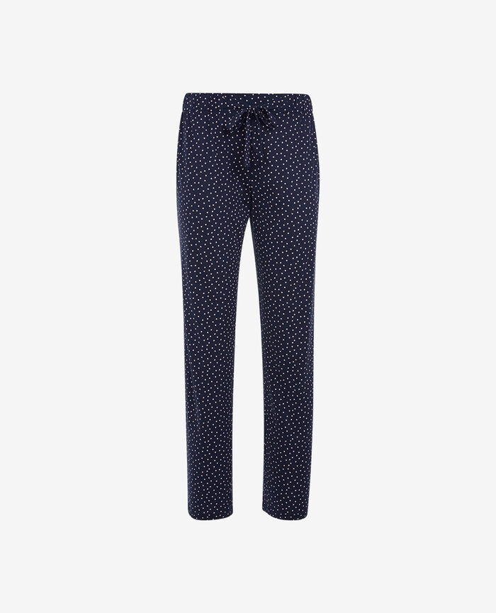 Trousers Navy Dot
