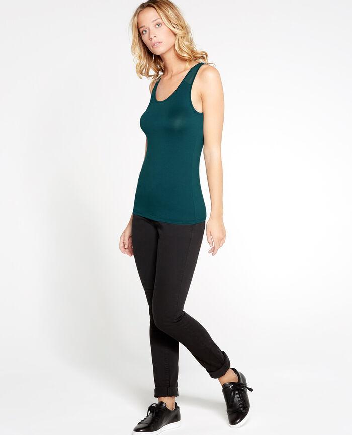 INNERWEAR Vert nuit T-shirt sans manches