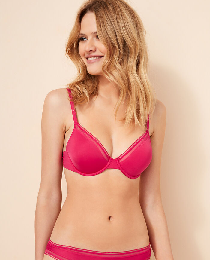 Underwired bra Bling pink Make up