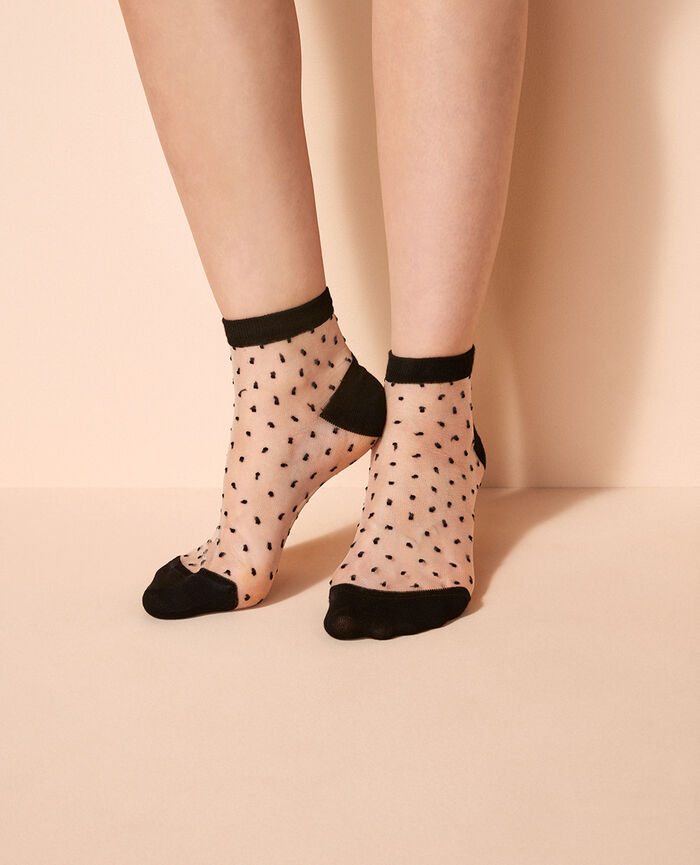 Socks Black Mignonnerie