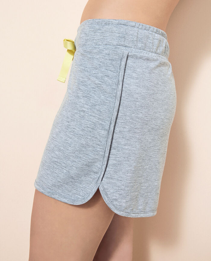 Boxer short Gris chiné Air loungewear