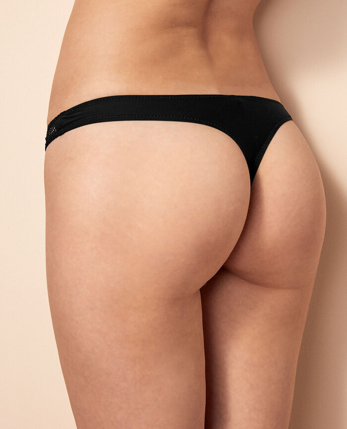 Thong Black Insolente