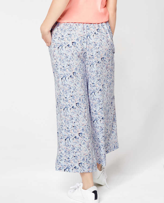 MARBLE Multicolore Pantalon gaucho