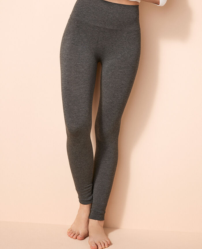 Legging Gris chiné Fit