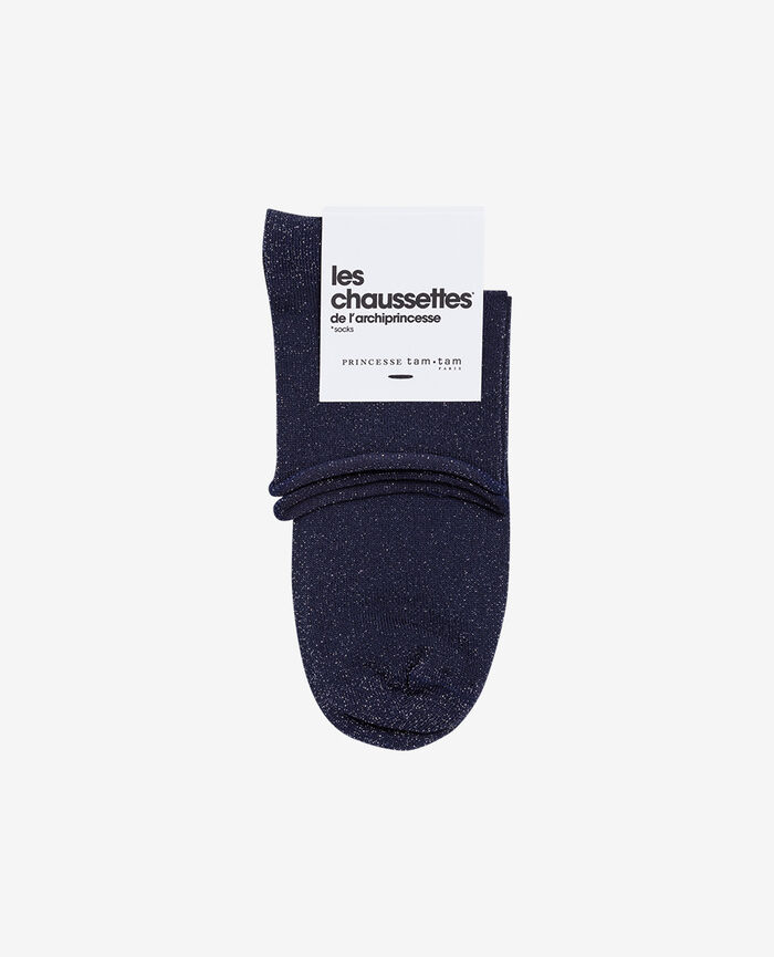 Socks Denim blue Pearl