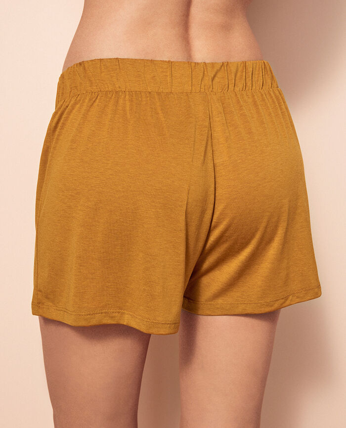 Boxer shorts Turmeric brown Latte