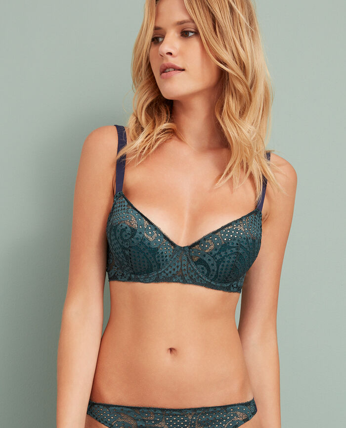 Demi push-up bra Story green Metropolitan