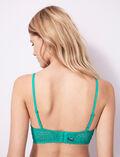 Bustier bra Palmito green Monica