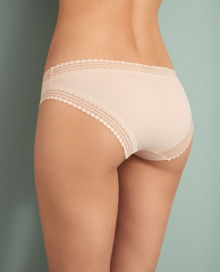 BEAUTE Powder Hipster briefs