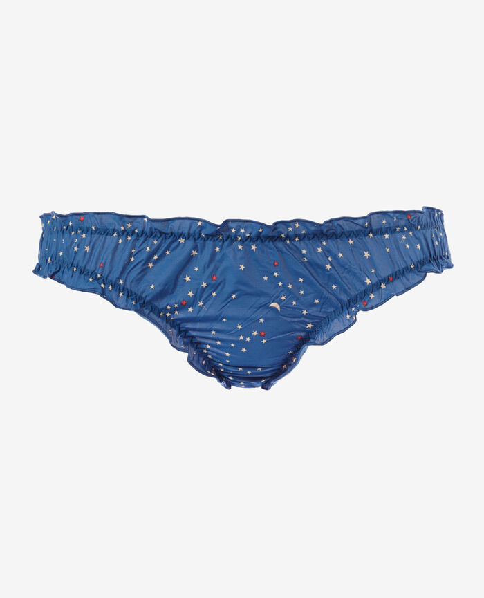 Printed briefs Moon blue Take away