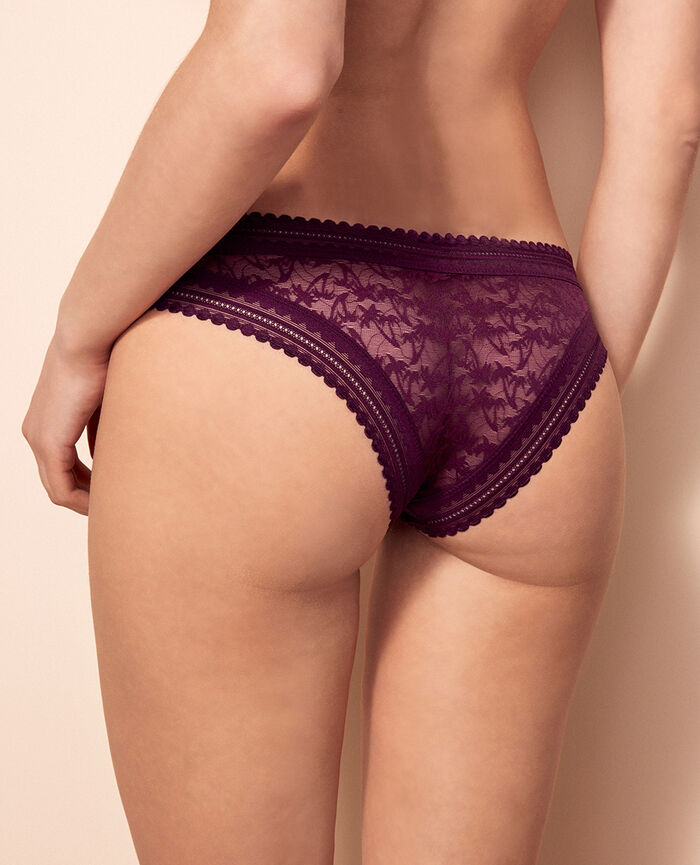 Brazilian briefs Ethnic purple Bella