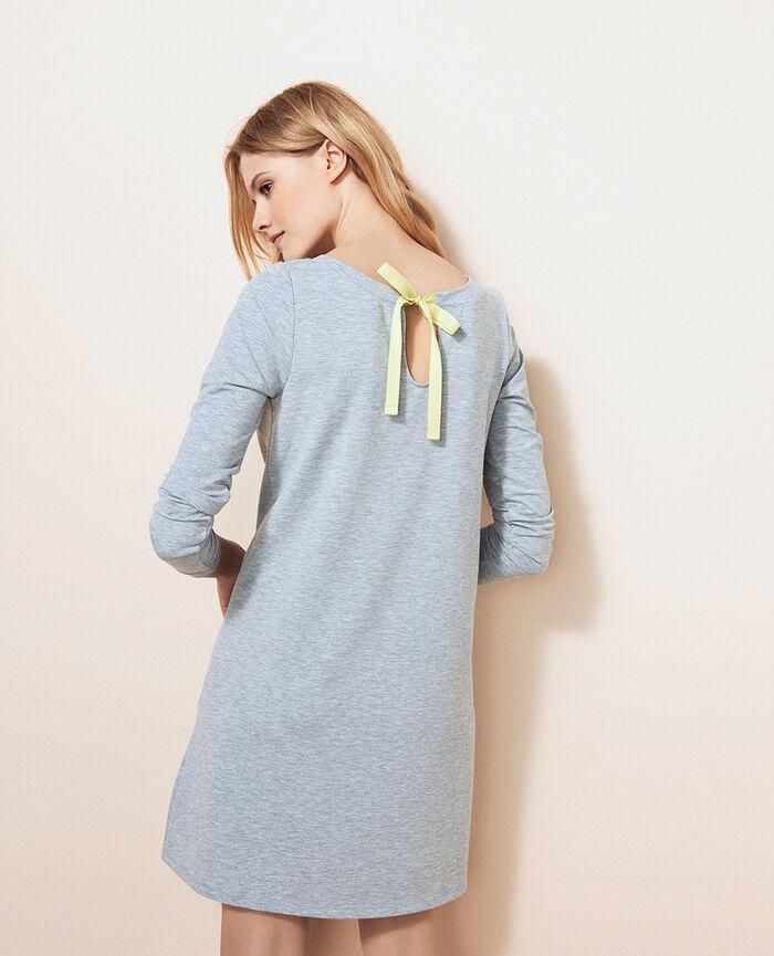 Tunic Flecked grey Air loungewear