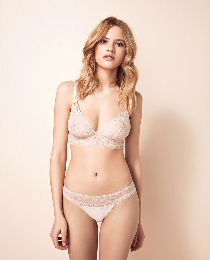 Soft cup bra Lychee pink Passion