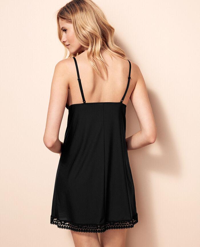 Nachtkleidchen Schwarz MONICA