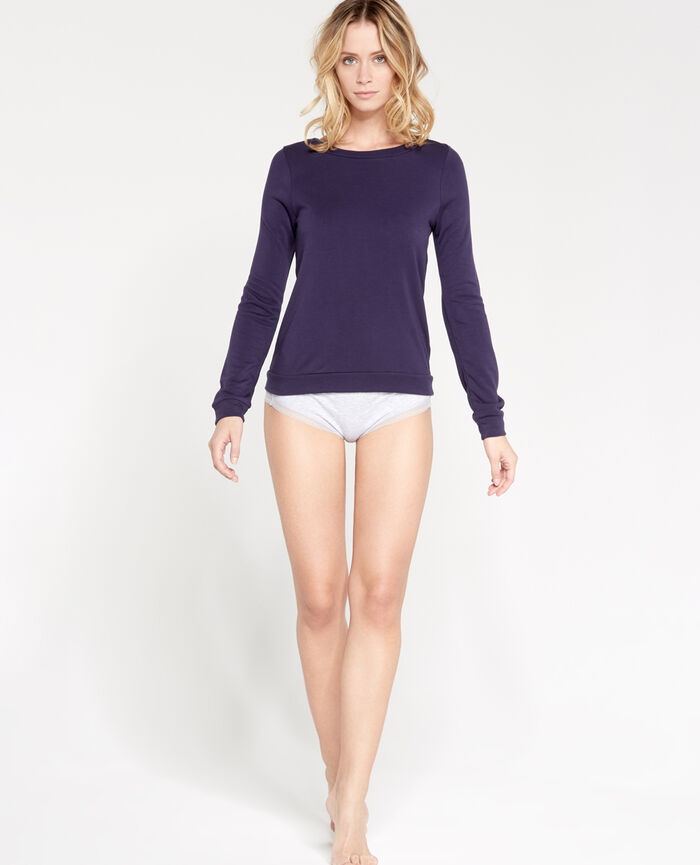 LOUNGEWEAR Bleu marine Sweat