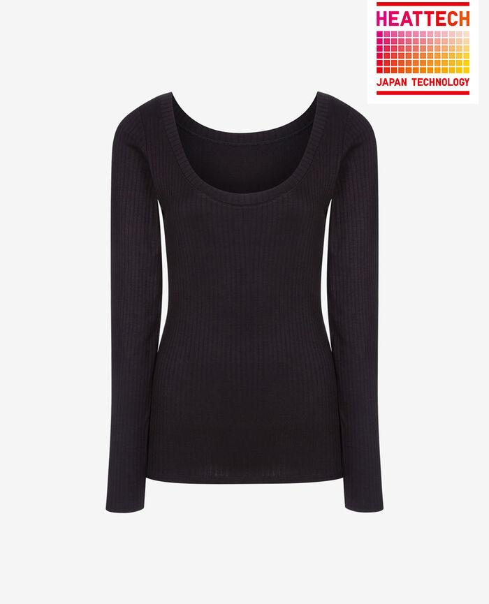 Langärmliges T-Shirt Schwarz INFINITY