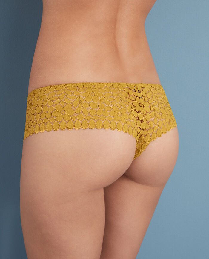 Shorty brésilien Jaune pickles Monica