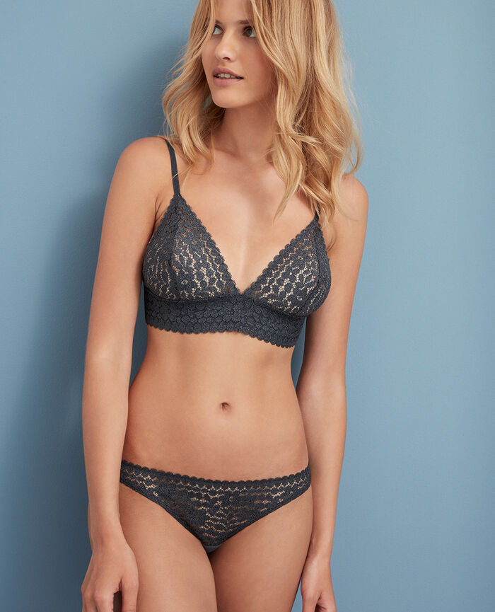 Soft cup bra Movica grey Movica