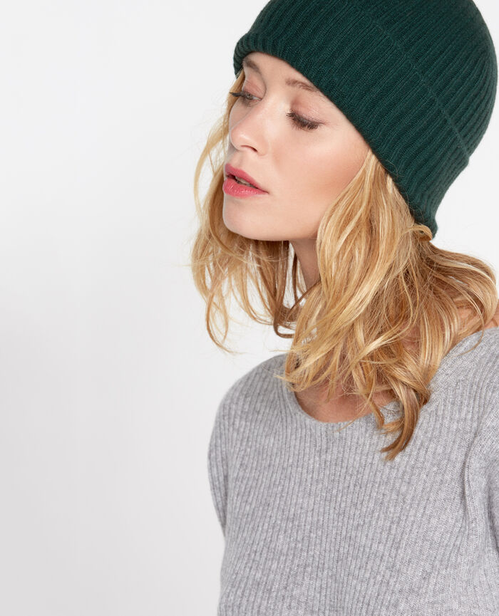 COZY Midnight green Hat