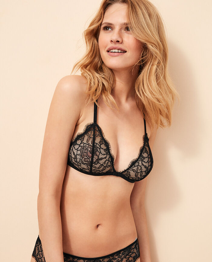 Soft cup bra Black Taylor