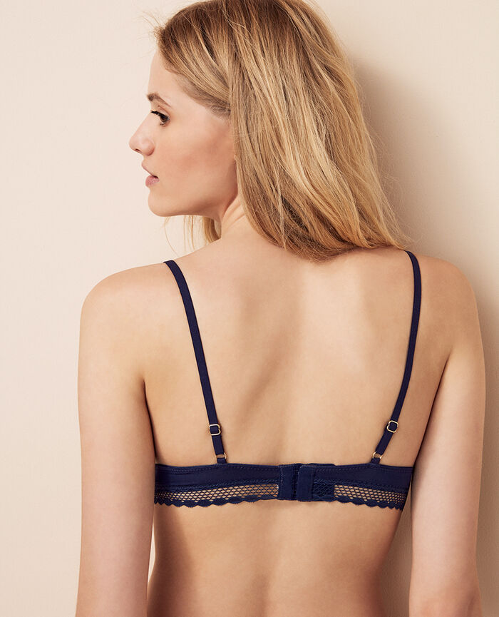 Soft cup bra Storm blue Air lingerie