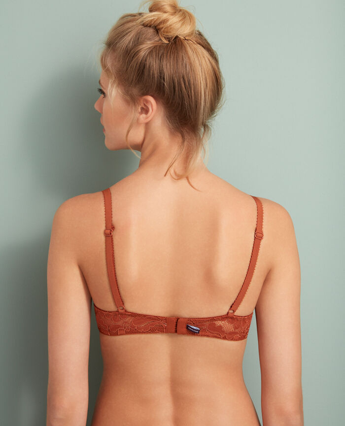 Padded push-up bra Ginger bread Angelina