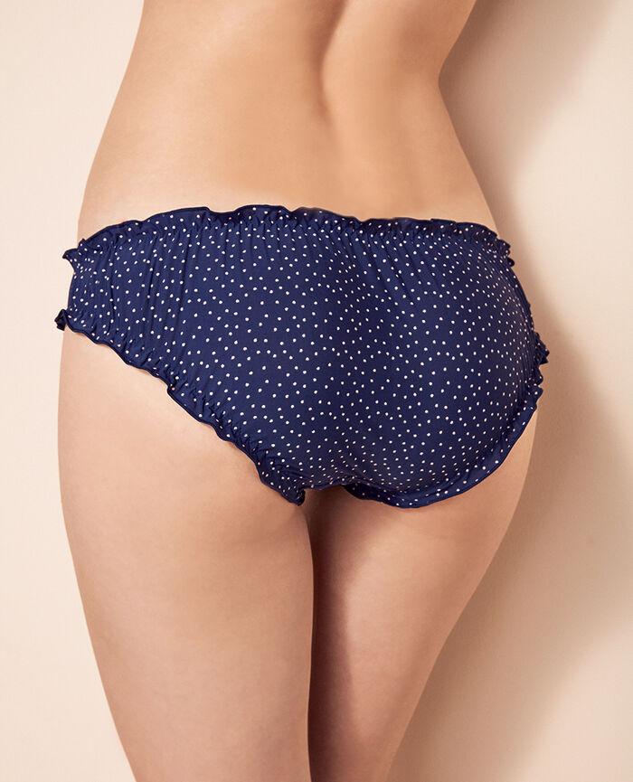 Culotte fantaisie Pois bleus Take away