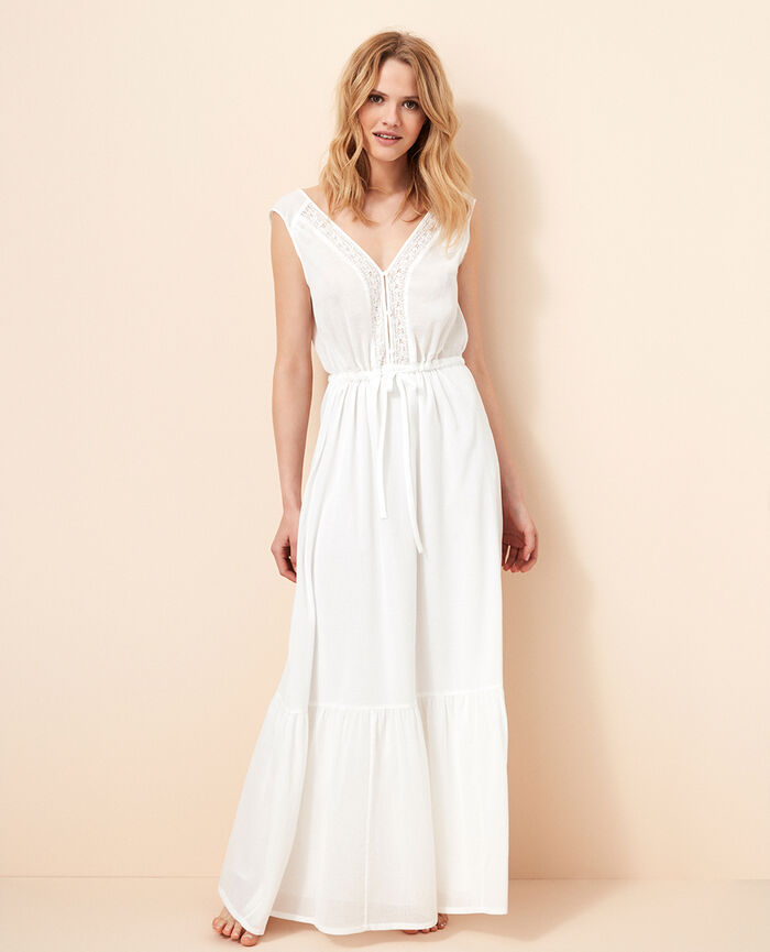 Long dress Ivory Solaris