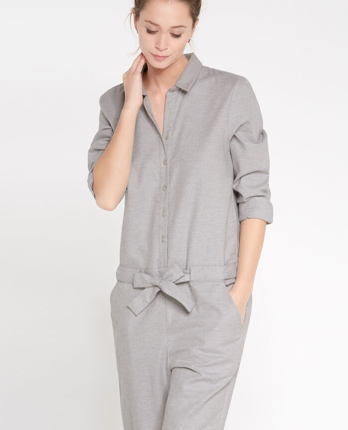 SOFT Flecked grey Jumpsuit