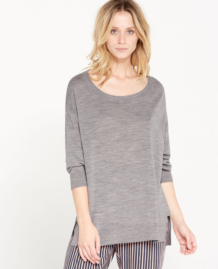 Jumper Flecked grey Extra