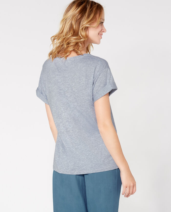 EMY Flecked grey Short-sleeved t-shirt