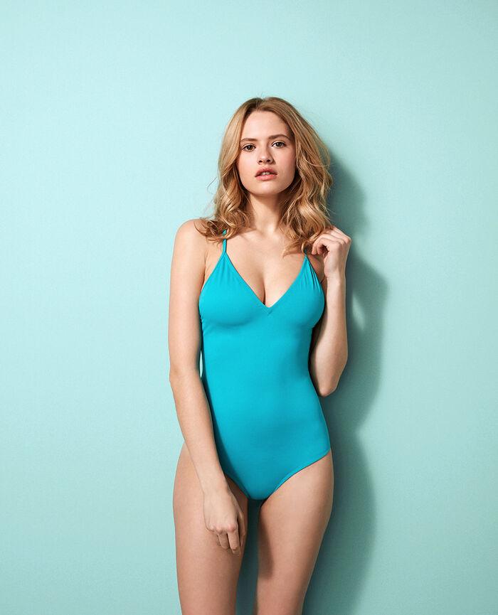 Swimsuit Turquoise Princesse tam.tam x uniqlo
