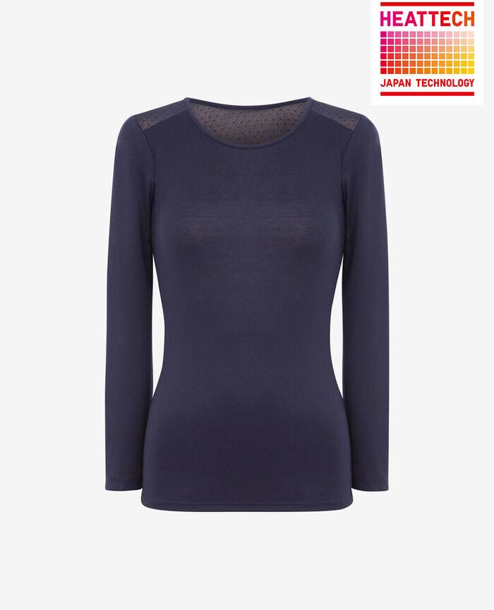 INNERWEAR Navy Long-sleeved t-shirt