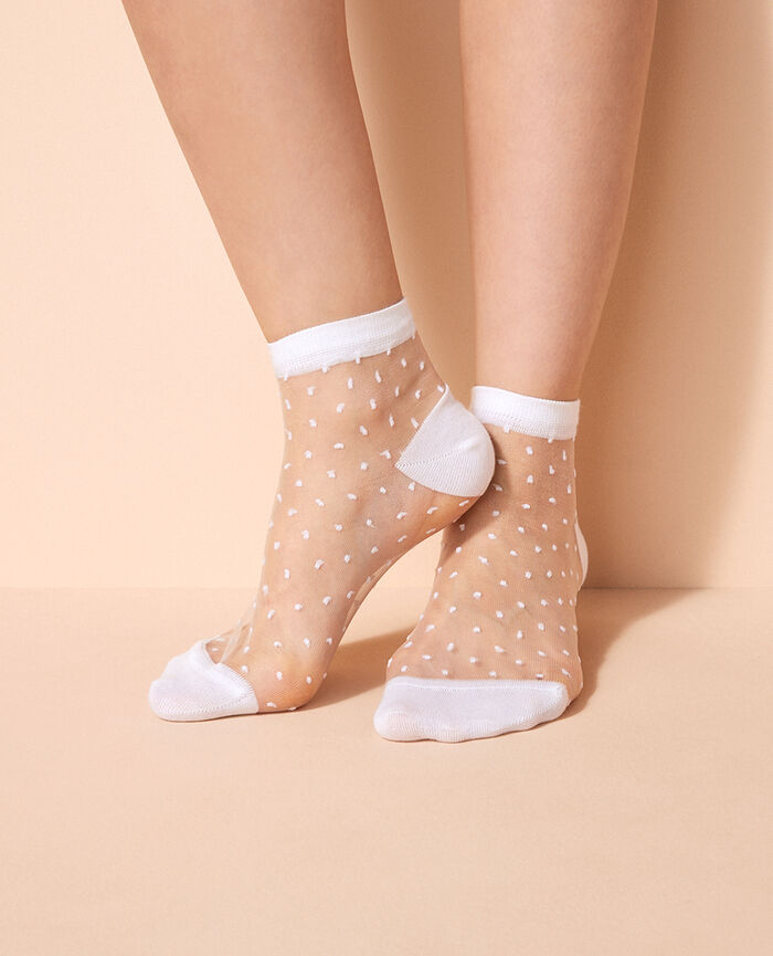 Socks White Mignonnerie