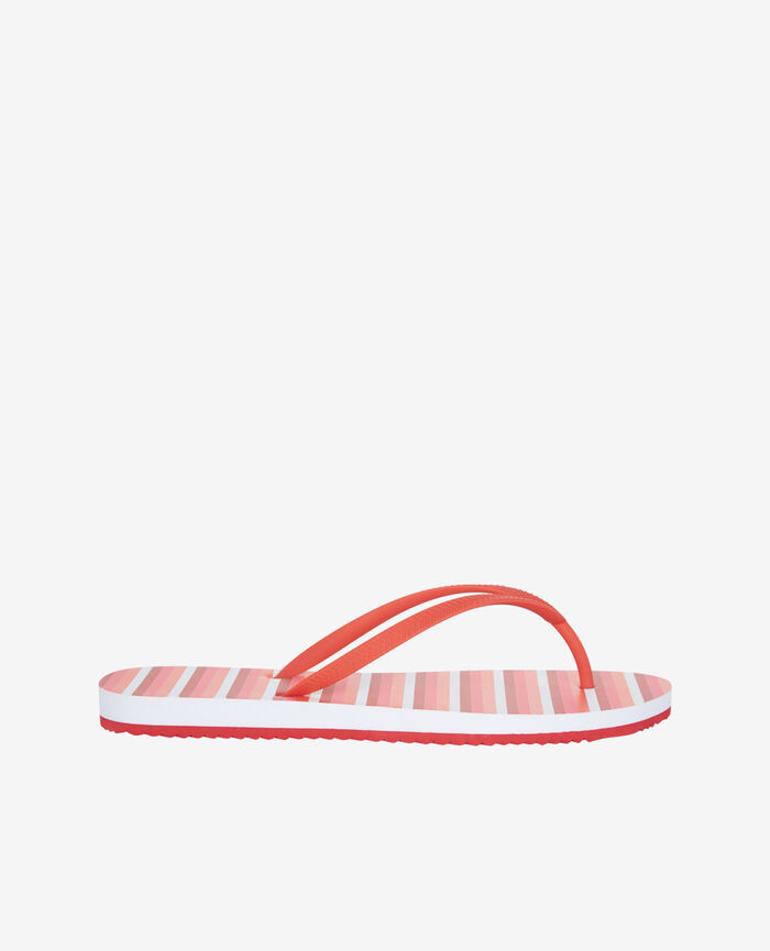 Thongs Pink stripes Princesse tam.tam x uniqlo