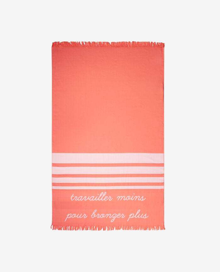 Bath towel Funky pink Farniente