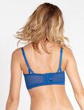 Bustier bra Neoprene blue Mina