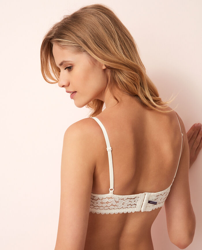 Half-cup padded bra Rose white Monica