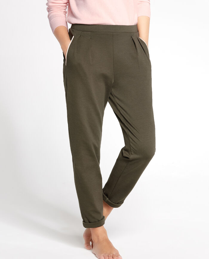 NEPTUNE Army green Carrot pants