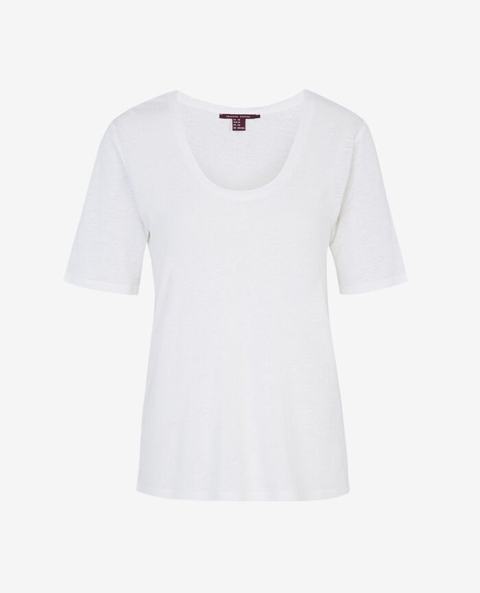 Short-sleeved t-shirt White Ideal