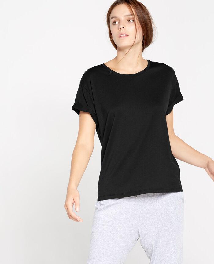 EMY Black Short-sleeved t-shirt