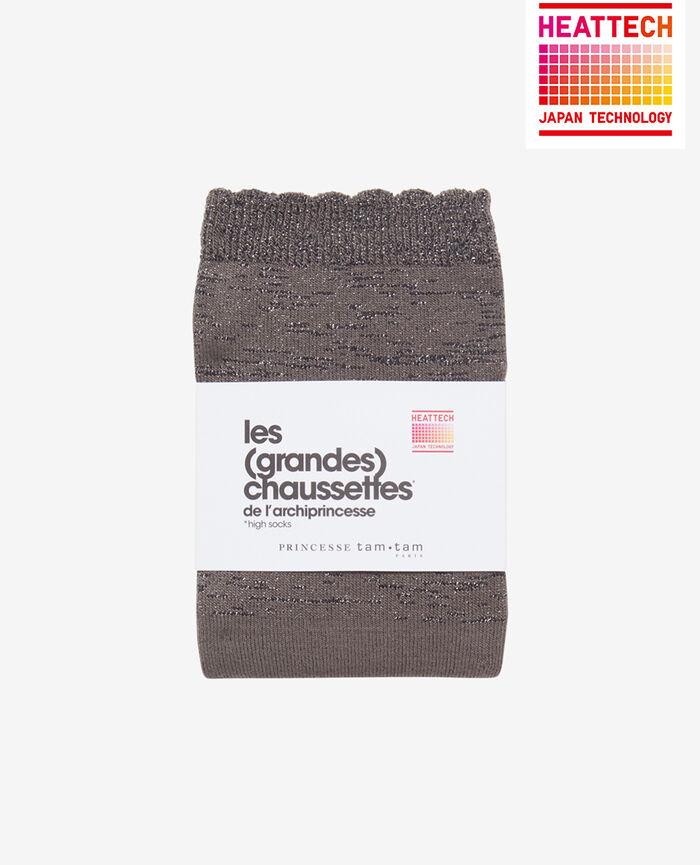 SPARKLE Steel grey Leg warmers